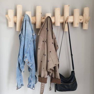 Wohndekoration aus Holz