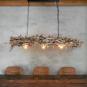 Holzlampen & Lichtdekoration
