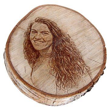 Holz-Gravur